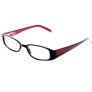 ICU Reading Eyeglasses Readers Rectangular +2.50